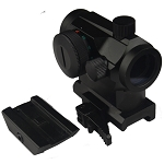 Micro Red Only Dot Sight QD High/Low Interchangeable Riser Base